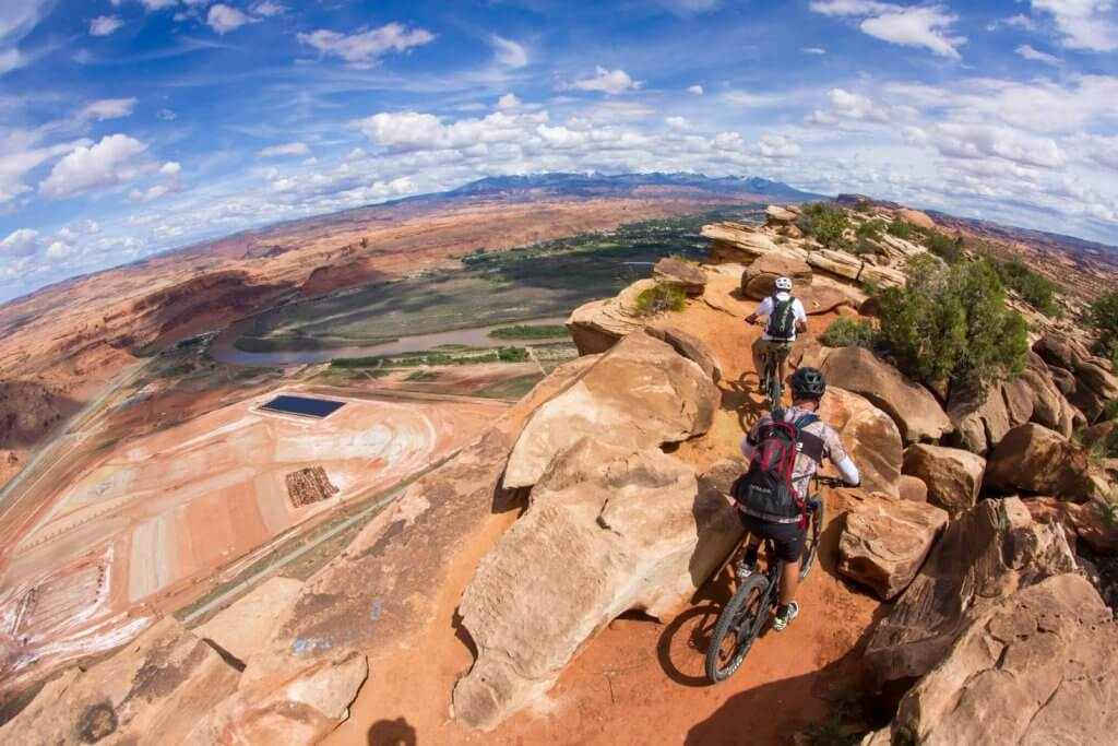 moab guided mountain bike trip 1024x683